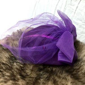 🎁Stunning Vintage Mesh Fedora Hat